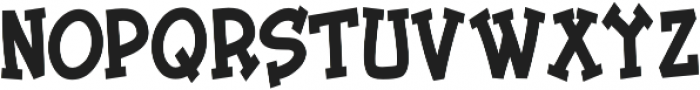 Tickled Condensed Bold otf (700) Font UPPERCASE
