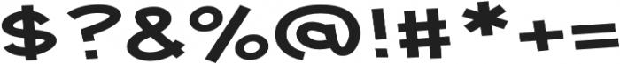 Tickled Expanded Regular otf (400) Font OTHER CHARS