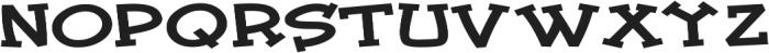 Tickled Expanded Regular otf (400) Font UPPERCASE