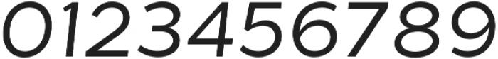 Tide Sans 300 Lil Kahuna Italic otf (300) Font OTHER CHARS