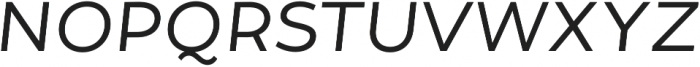 Tide Sans 300 Lil Kahuna Italic otf (300) Font UPPERCASE