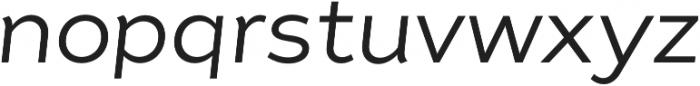 Tide Sans 300 Lil Kahuna Italic otf (300) Font LOWERCASE