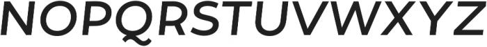 Tide Sans 400 Lil Dude Italic otf (400) Font UPPERCASE