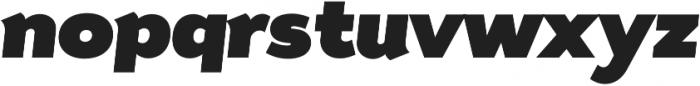 Tide Sans 900 Dude Italic otf (900) Font LOWERCASE
