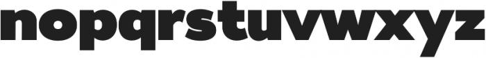 Tide Sans 900 Dude otf (900) Font LOWERCASE
