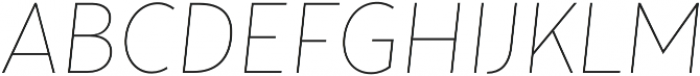 Tide Sans Cond 100 Lil Bunny Italic otf (100) Font UPPERCASE