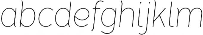 Tide Sans Cond 100 Lil Bunny Italic otf (100) Font LOWERCASE