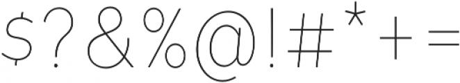 Tide Sans Cond 100 Lil Bunny otf (100) Font OTHER CHARS