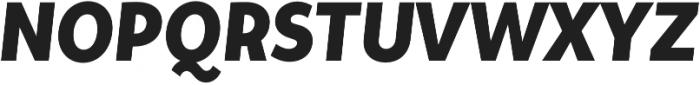 Tide Sans Cond 600 Bunny Italic otf (600) Font UPPERCASE