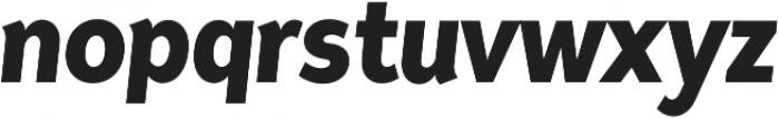 Tide Sans Cond 600 Bunny Italic otf (600) Font LOWERCASE