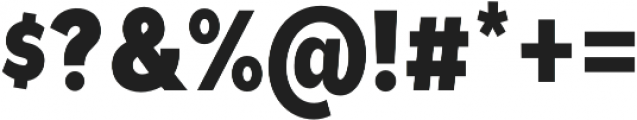 Tide Sans Cond 600 Bunny otf (600) Font OTHER CHARS