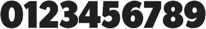 Tide Sans Cond 700 Mondo otf (700) Font OTHER CHARS