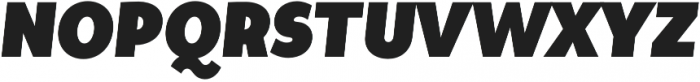Tide Sans Cond 800 Kahuna Italic otf (800) Font UPPERCASE