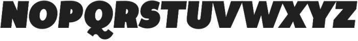 Tide Sans Cond 900 Dude Italic otf (900) Font UPPERCASE
