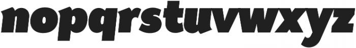 Tide Sans Cond 900 Dude Italic otf (900) Font LOWERCASE