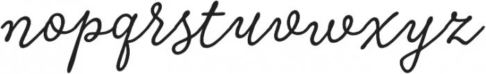 Tierra Script Salt otf (400) Font LOWERCASE