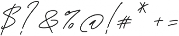 Tiffanyed otf (400) Font OTHER CHARS