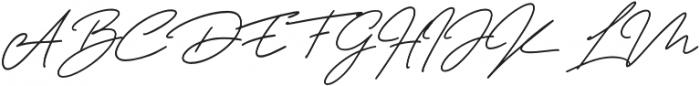 Tiffanyed otf (400) Font UPPERCASE