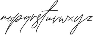 Tiffanyed otf (400) Font LOWERCASE