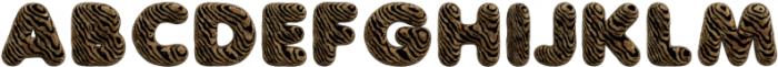 Tiger Regular otf (400) Font UPPERCASE