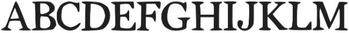 Tigerlily otf (400) Font UPPERCASE
