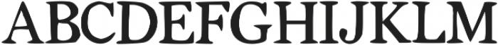 Tigerlily ttf (400) Font UPPERCASE