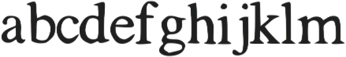 Tigerlily ttf (400) Font LOWERCASE