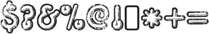 Tight Regular otf (400) Font OTHER CHARS