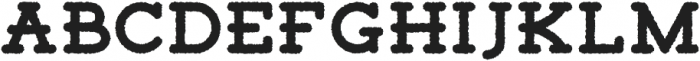 Tigreal Rough otf (400) Font UPPERCASE