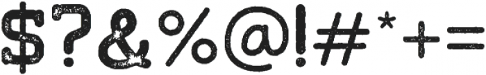 Tigreal Stamp otf (400) Font OTHER CHARS