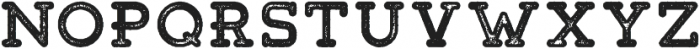 Tigreal Stamp otf (400) Font LOWERCASE