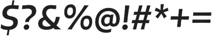 Tikal Sans  Bold Italic otf (700) Font OTHER CHARS