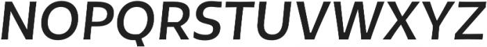 Tikal Sans  Bold Italic otf (700) Font UPPERCASE