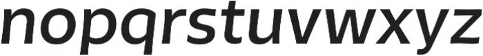 Tikal Sans  Bold Italic otf (700) Font LOWERCASE