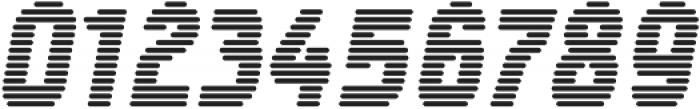 Tilda Heavy Italic Lines ttf (800) Font OTHER CHARS
