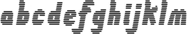 Tilda Heavy Italic Lines ttf (800) Font LOWERCASE