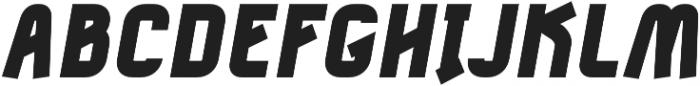 Tilda Heavy Italic otf (800) Font UPPERCASE