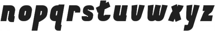 Tilda Heavy Italic otf (800) Font LOWERCASE
