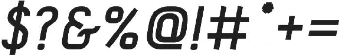 Tilda Italic otf (400) Font OTHER CHARS