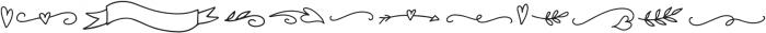 Tilly Clipart otf (400) Font UPPERCASE
