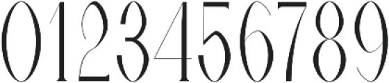Timm Light otf (300) Font OTHER CHARS