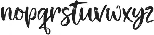 Tiny Love script otf (400) Font LOWERCASE