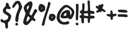 Tiny Rabbit otf (400) Font OTHER CHARS
