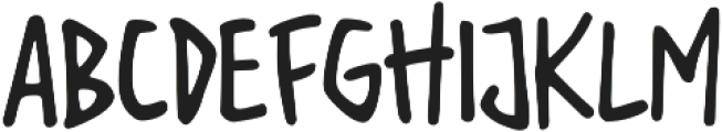 Tiny Rabbit otf (400) Font UPPERCASE