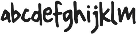 Tiny Rabbit otf (400) Font LOWERCASE