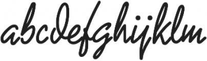 Tipsy ttf (400) Font LOWERCASE
