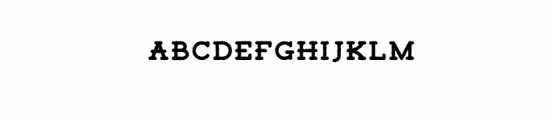 Tigreal Rough.otf Font LOWERCASE