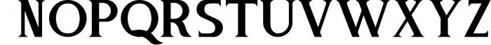 Tintri Pure - Script and Serif Font UPPERCASE