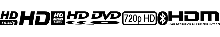 TI logoso TFB Font UPPERCASE