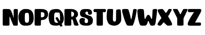 TIGERYEN Font UPPERCASE
